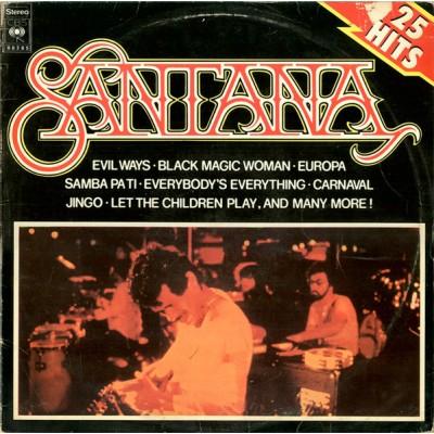 Santana --- 25 Hits