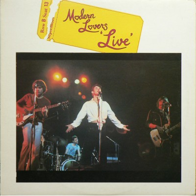 Modern Lovers --- Live
