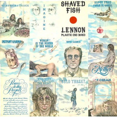 John Lennon --- Shaved Fish