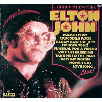 Elton John --- London & New...