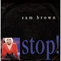 """7"""" Sam Brown --- Stop!"""