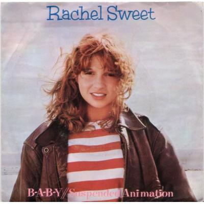 """7"""" Rachel Sweet --- B-A-B-Y"""