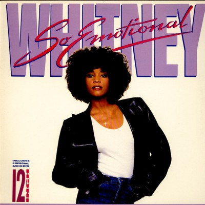 "12"" Whitney Houston --- So..."
