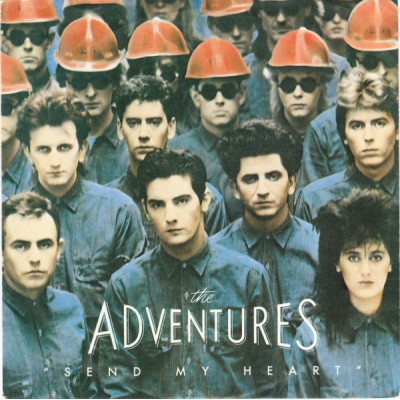"7"" The Adventures --- Send..."