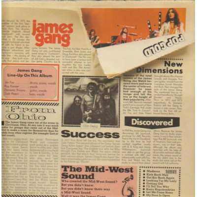 The James Gang --- Pop Gold