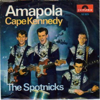 "7"" The Spotnicks --- Amapola"