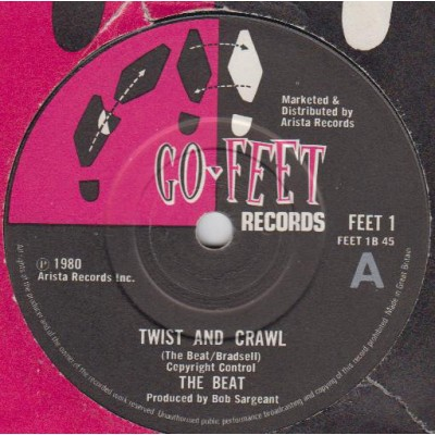 "7"" The Beat --- Hands..."