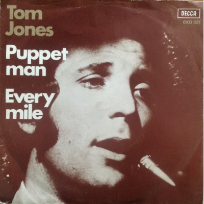 "7"" Tom Jones --- Puppet Man"