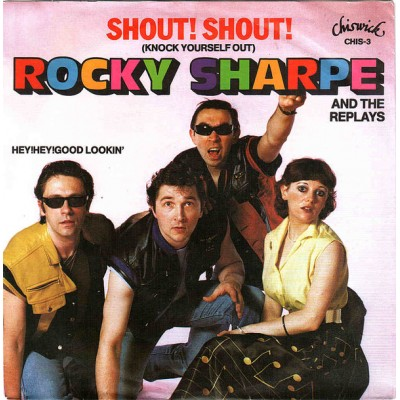 """7"""" Rocky Sharpe And The..."""