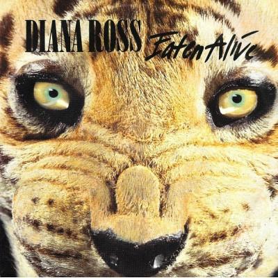"7"" Diana Ross --- Eaten Alive"