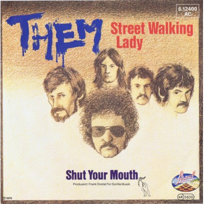 "7"" Them --- Street Walking..."