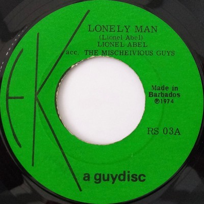 "7"" Lionel Abel --- Lonely Man"