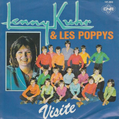 "7"" Lenny Kuhr & Les Poppys..."