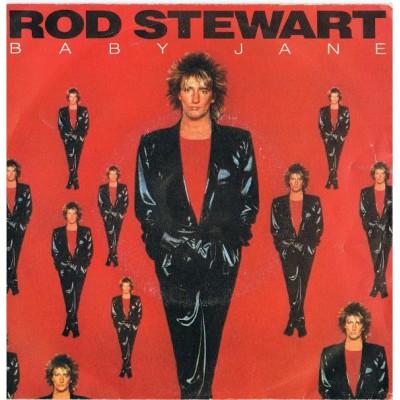 """7"""" Rod Stewart --- Baby Jane"""
