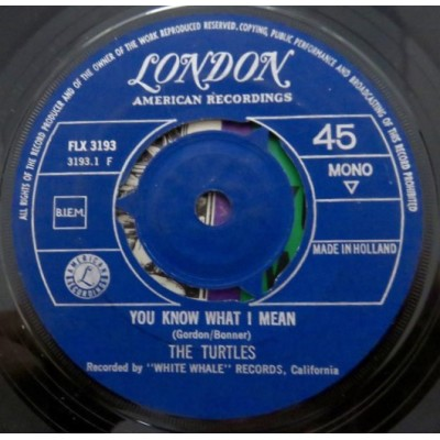 "7"" The Turtles --- You Know..."