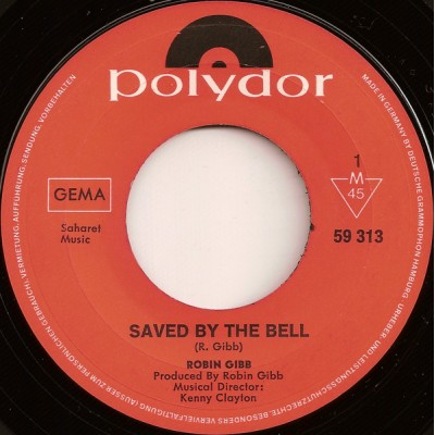 "7"" Robin Gibb --- Saved By..."