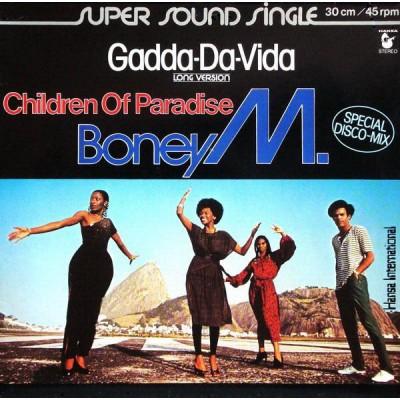 """12"""" Boney M. --- Gadda-Da-Vida"""