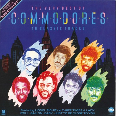 Commodores --- The Very...