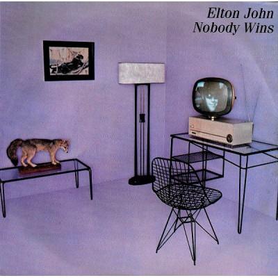 "7"" Elton John --- Nobody Wins"