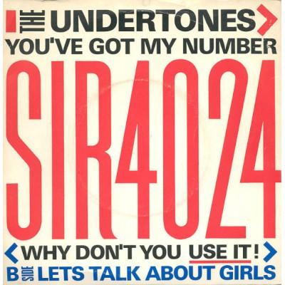"""7"""" The Undertones ---..."""